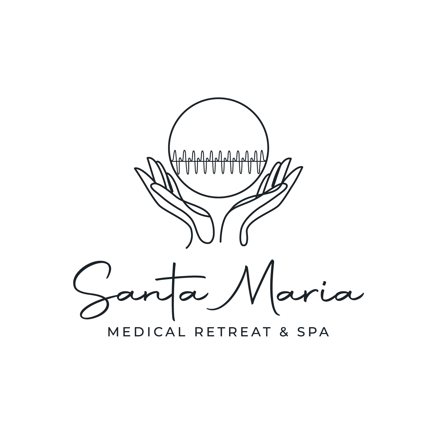 Logo for a Medical Retreat on the Pacific