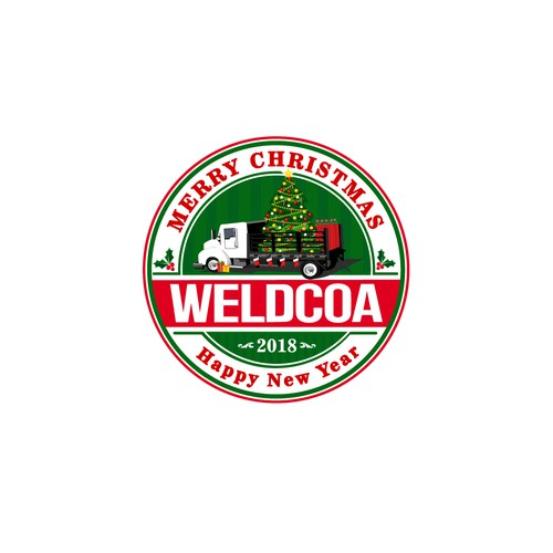 Christmas Logo for Weldcoa