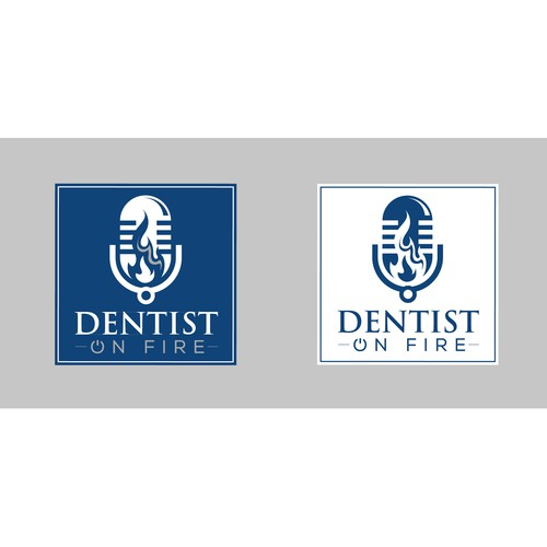 Dentist on Fire logo