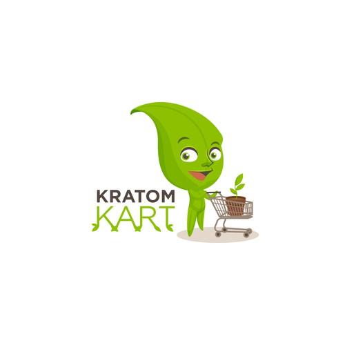 Logo concept Kratom Sellers
