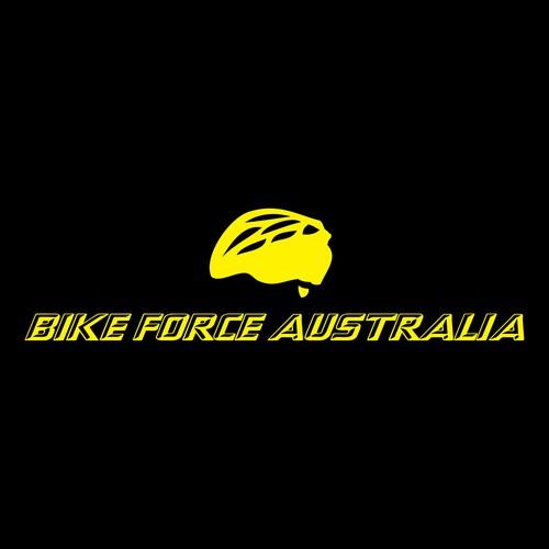 create an awesome logo for Bike Force Australia
