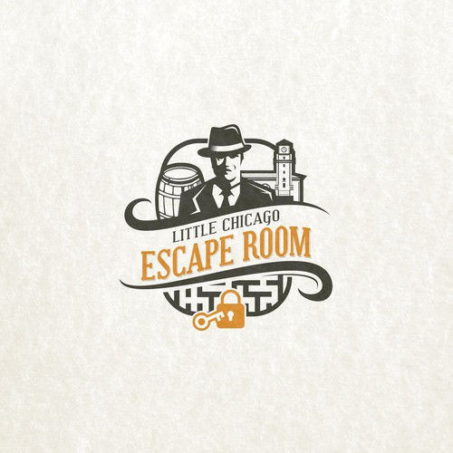Little Chicago Escape Room Logo