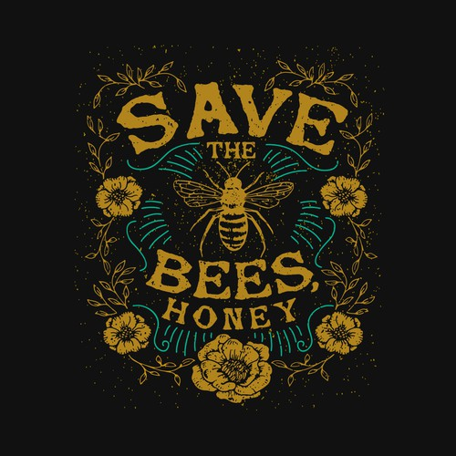 Save the bees, honey!