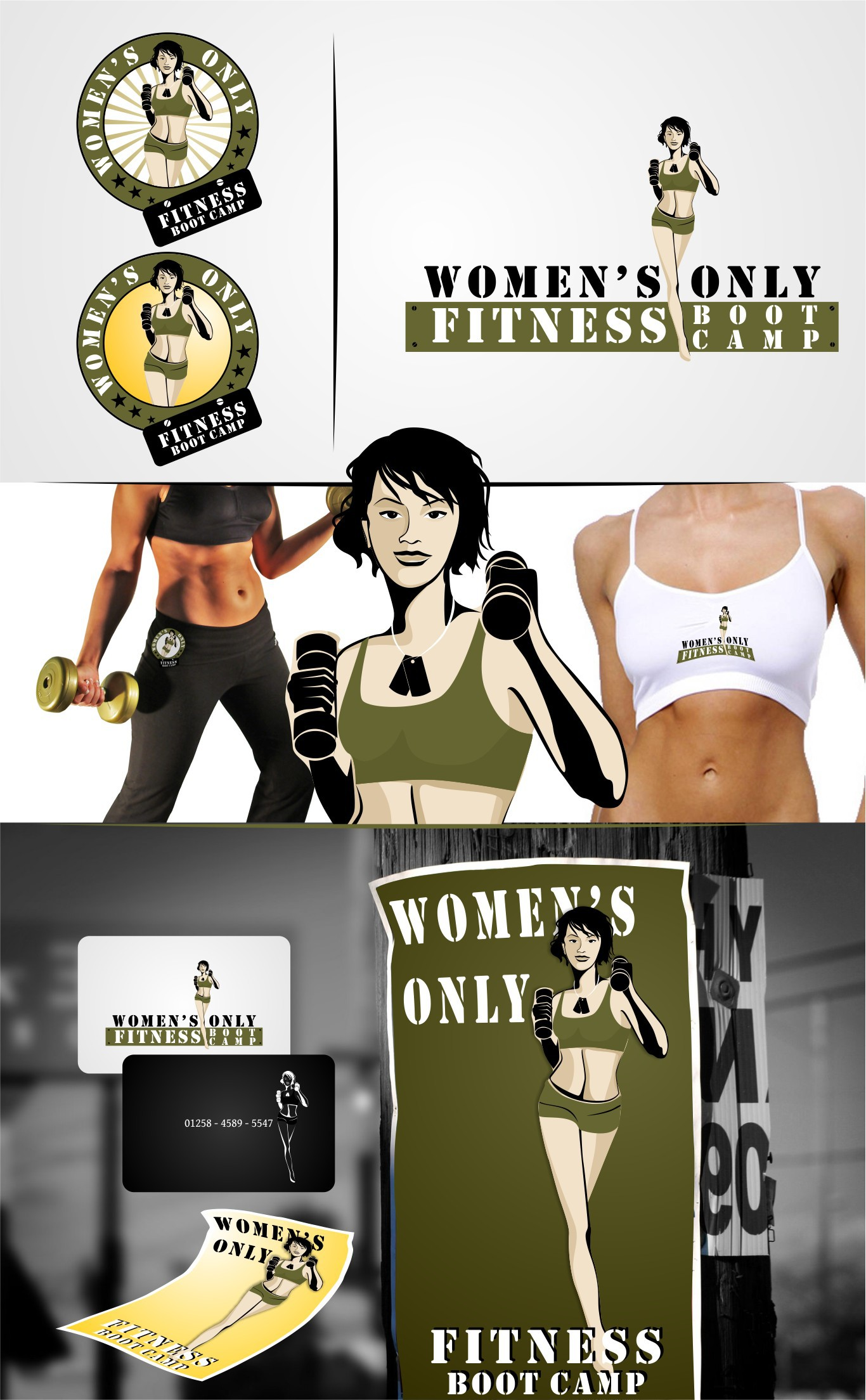 Women's Only Fitness Boot Camp Logo Needed - HAVE FUN!
