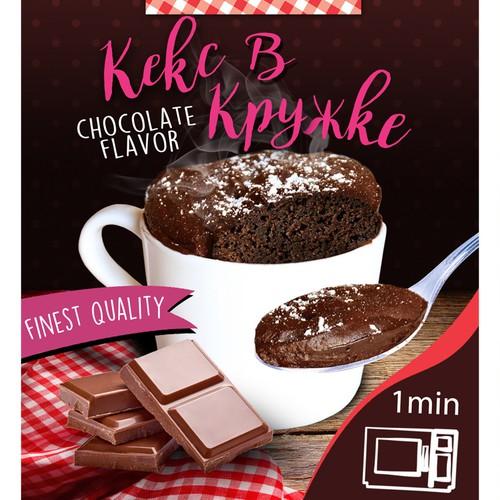 Packaging for mug cake