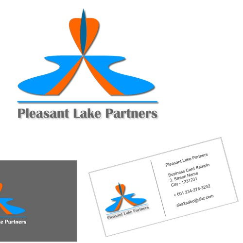 Help Pleasant Lake Partners with a new logo and business card