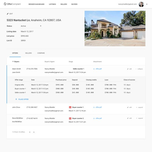 Real Estate managment web application