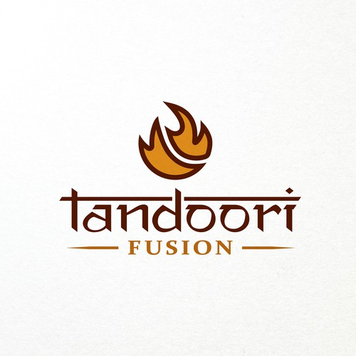 Logo for an Upscale Indian Restaurant