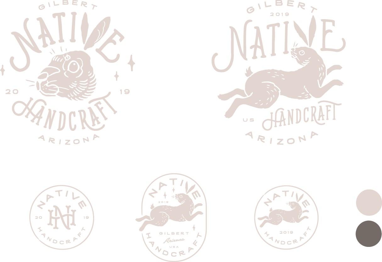 Logo and Brand Design for Native Handcraft