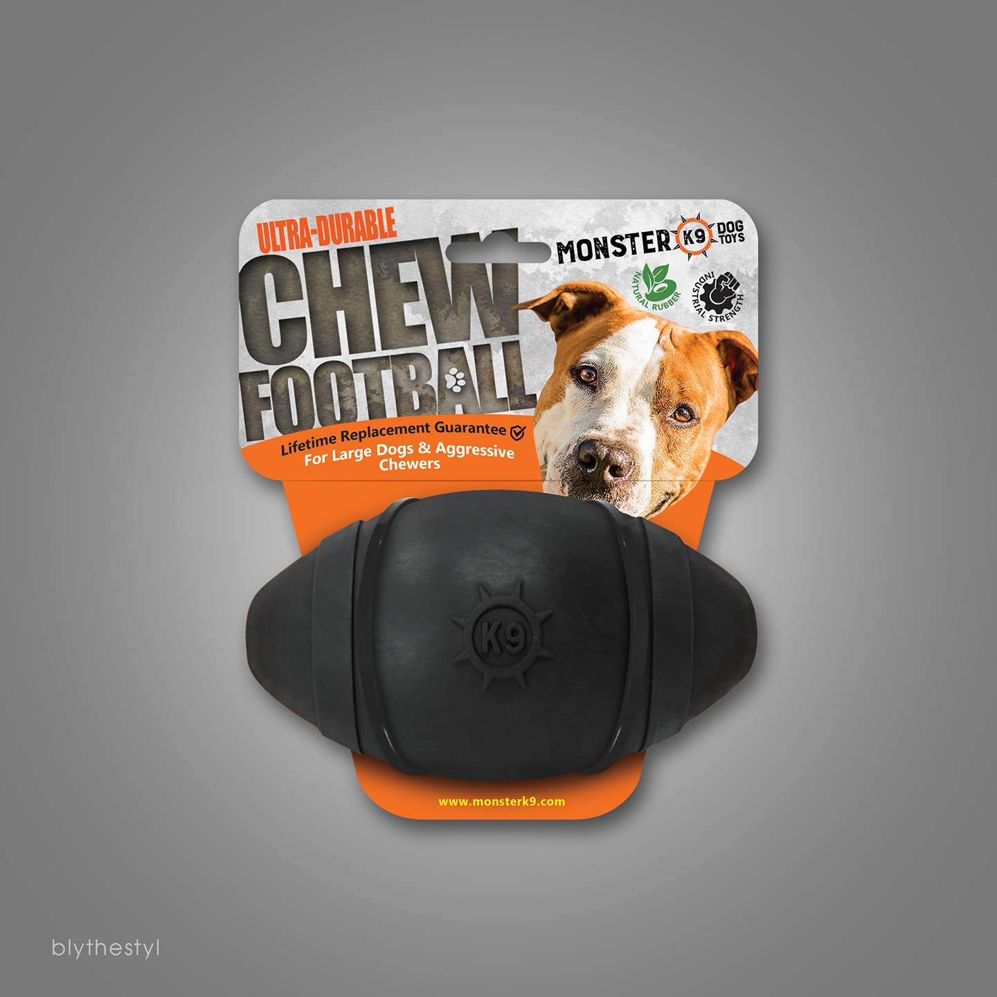 Packaging Design for 2 Dog Toys - Dielines Provided