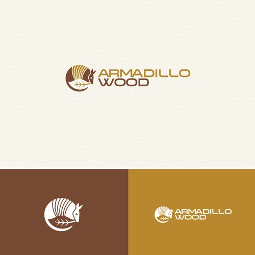 Create a Logo for Armadillo Wood