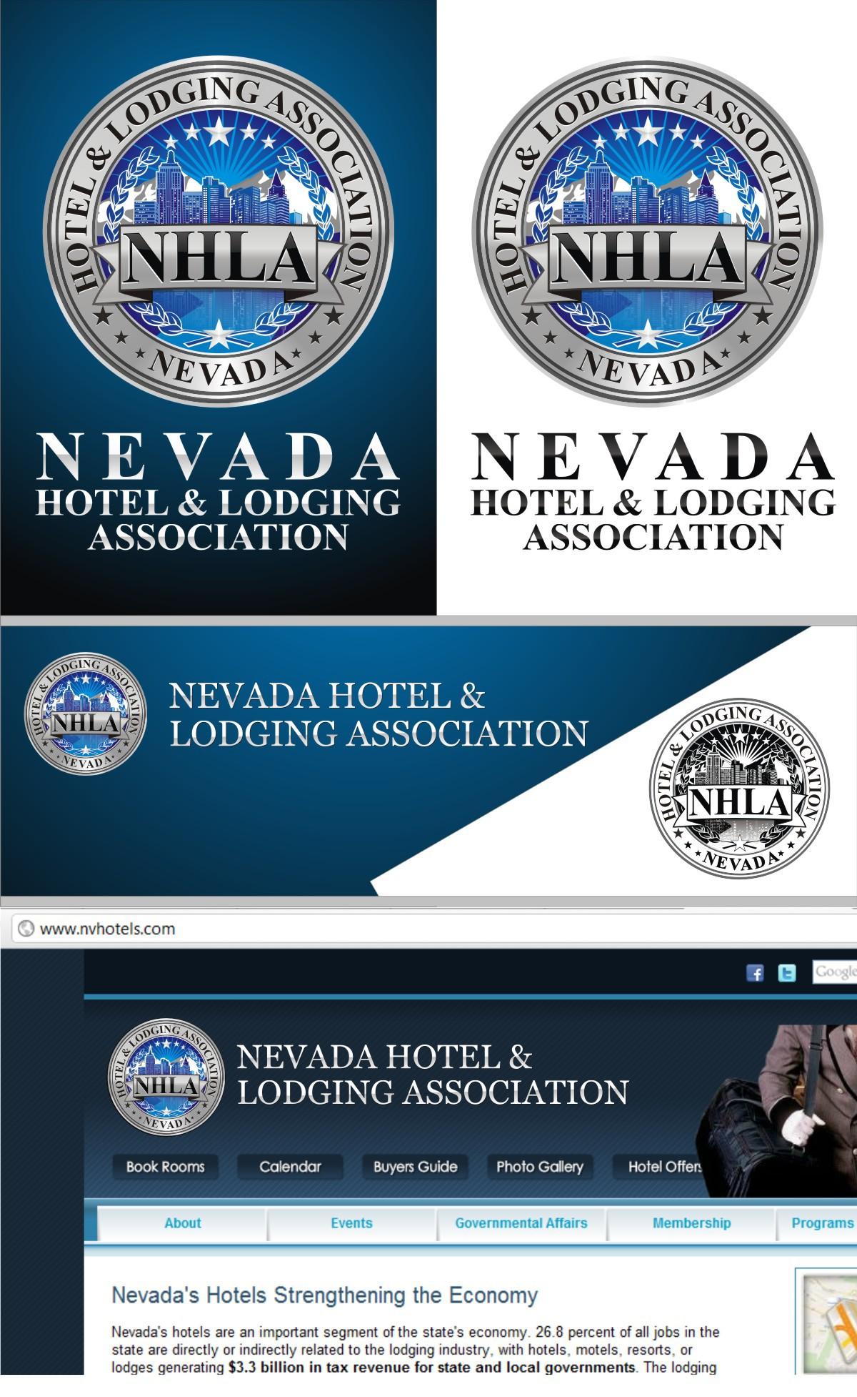 logo for Nevada Hotel & Lodging Association (NHLA)