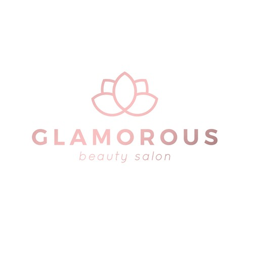 Minimal, clean logo for a beauty salon