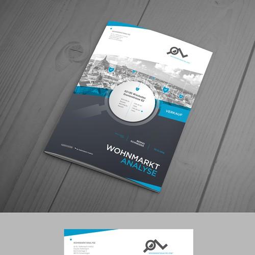 Avant garde brochure design
