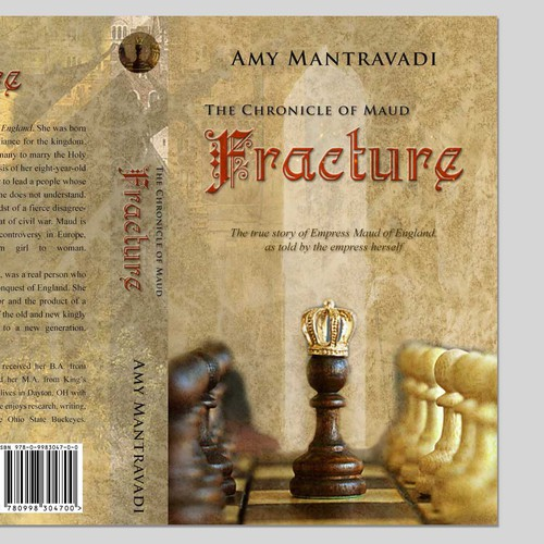 Book cover for Amy Mantravadi's The Chronicle of Maud - Fracture