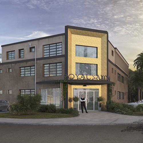 Design New Building Facade