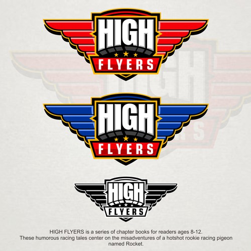 Logo for 'High Flyers'