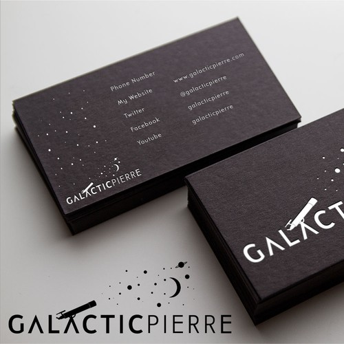 Create the next logo for galacticpierre