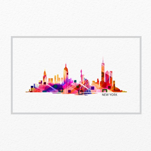 Colorful Skylines