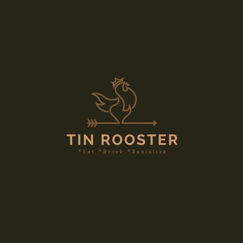 Logo for Tin Rooster restaurant