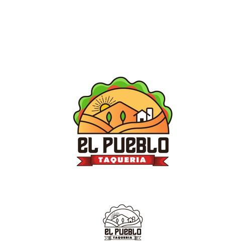 Logo for tex mex food restaurant
