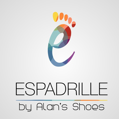 Create an attractive and distinct logo for a new store named Espadrille