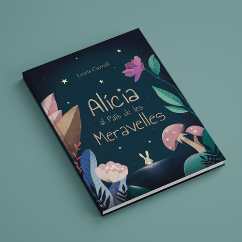 "Book design ""Alice in Wonderland"""