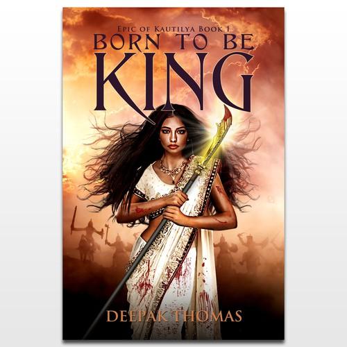 Book Cover for a Hindu Epic Fantasy Novel