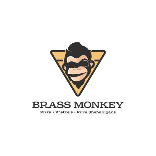 brass monkey contest logo entry