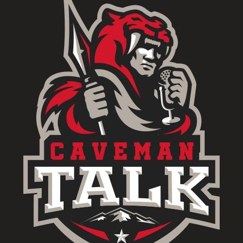Caveman Talk Sports Logo