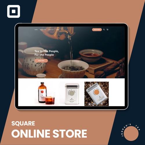 Jeddahs tea Room Square online ordering site