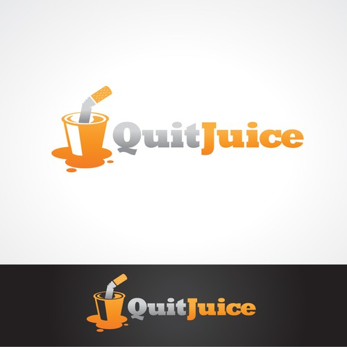 QuitJuice: Double dog dare you to make a better logo than I did. Seriously, please do it.