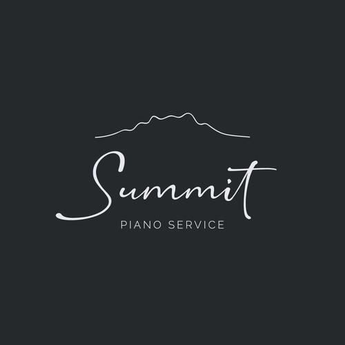 Logo Concept for Piano Service Company
