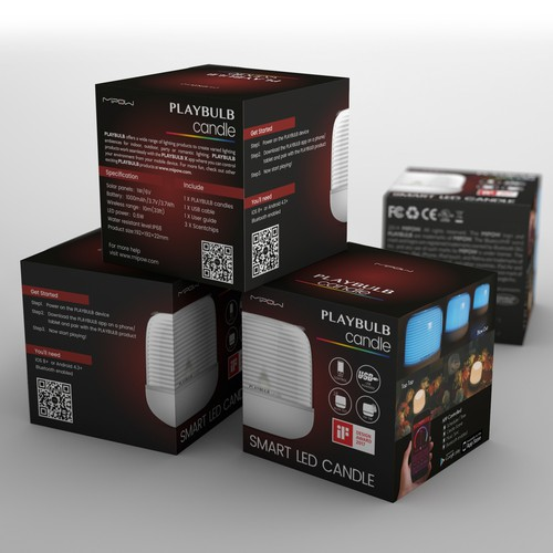Mipow Playbulb product family package design