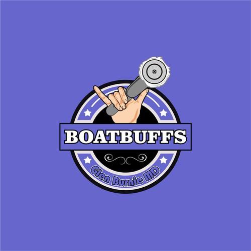 boatbuffs logo design