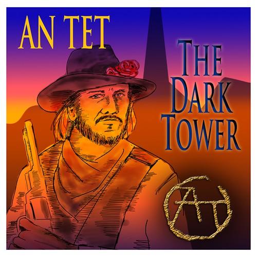 Create an Album Cover for the Dark Tower Album by An Tet.