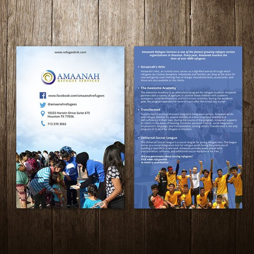Post card for Amaanah
