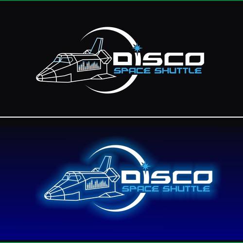 The Disco Space Shuttle Burning Man Art Car needs a new logo!