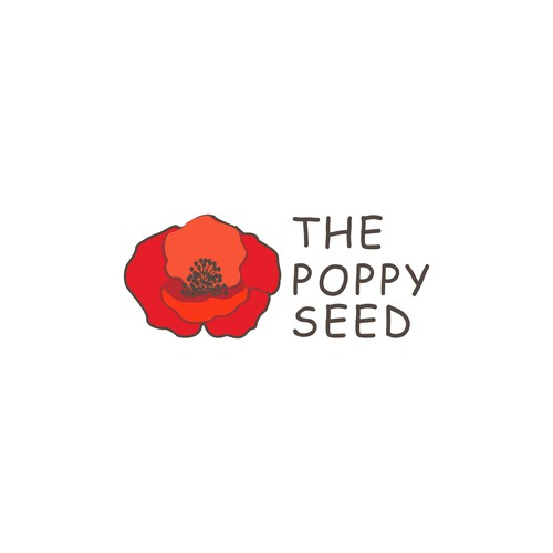 Logo concept for The Poppy Seed
