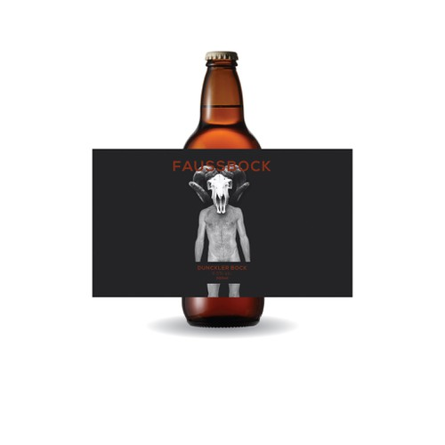 Beer bottle label 01! Dont be efraid to shock. We like sick and twisted minds!
