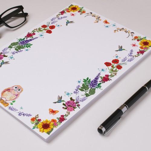 Botanical Boarder Wedding Card