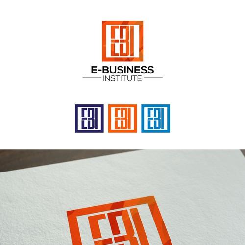 bold digital Modern  logo concept.