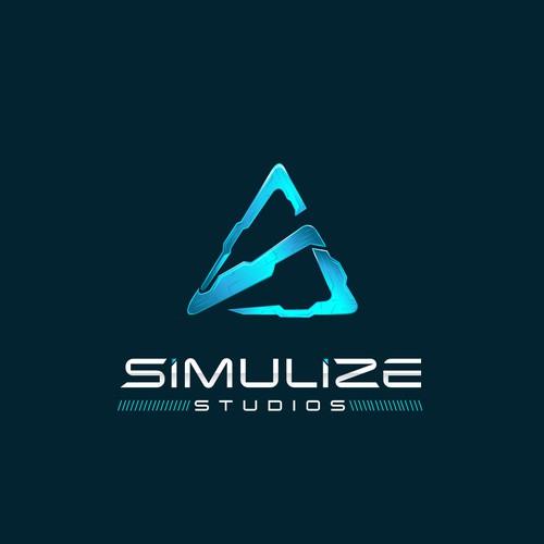 Simulize Studios Logo Design