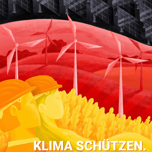 Creative redesign of electoral posters in Germany