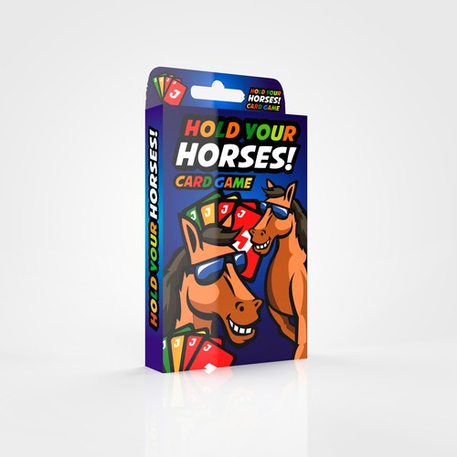 """Hold your horses""card deck"