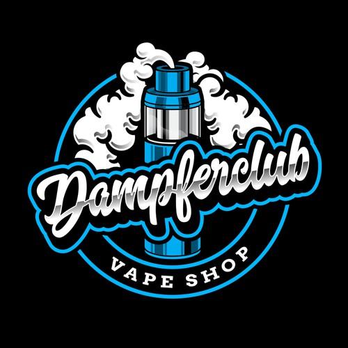 Logo design for Vape shop