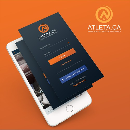 App Design for Atleta Recruiting