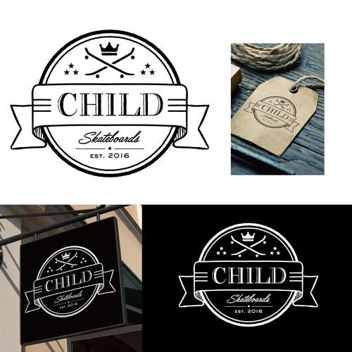 Skateboarding shop CHILD_logo