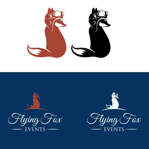 Create the next logo for Flying Fox Events