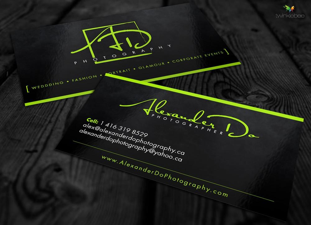 Help www.AlexanderDoPhotography.ca with a new stationery